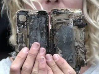 انفجار آیفون ۷ پلاس در چین!