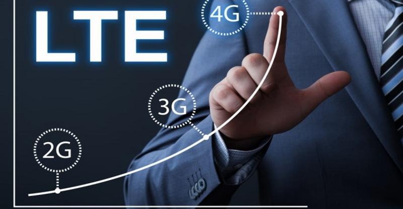 سرعت اینترنت 4G LTE