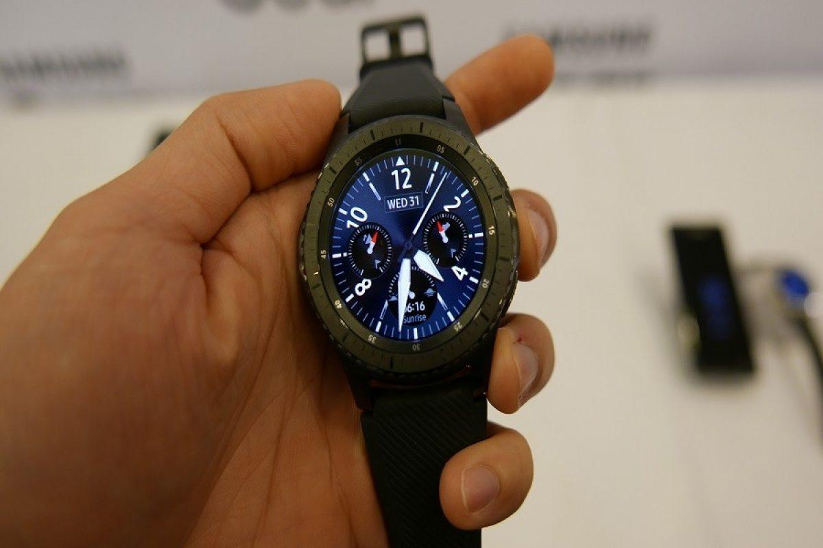 فروش ۲۵ هزار واحد از ساعت هوشمند Gear S3 در کرهجنوبی