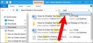 آموزش پاک کردن تاریخچه جستجو در File Explorer ویندوز