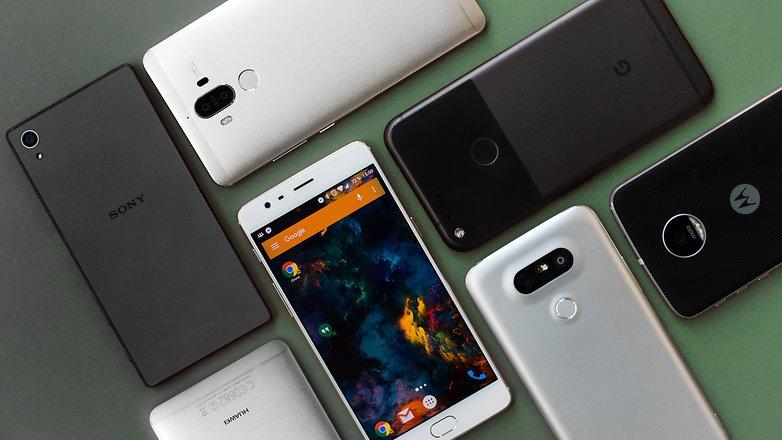 AndroidPIT-best-smartphones-1309-w782 راهنمای خرید گوشی هوشمند با بودجه 3 تا 4 میلیون تومان (مهر ماه 97)