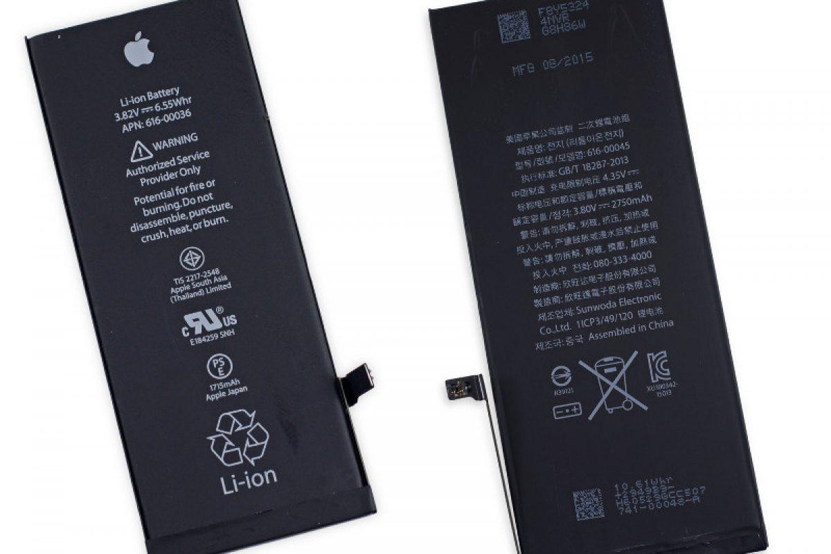 اپل: مشکل باتری آیفون ۶s ناشی از زیادی هوا در فرایند ساخت است!