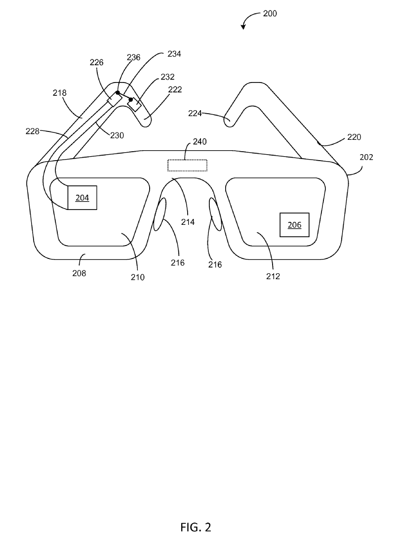 Illustrational-graphics-from-Microsofts-patent-application۱ مایکروسافت پتنت جدیدی در رابطه با دنبالکردن حرکات چشم به ثبت رساند
