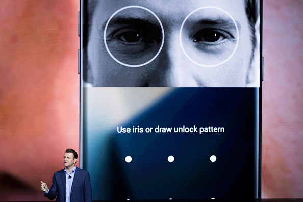 NEW YORK, NY - AUGUST 2: Justin Denison, senior vice president of product strategy at Samsung, speaks during a launch event for the Samsung Galaxy Note 7 at the Hammerstein Ballroom, August 2, 2016 in New York City. The stylus equipped smartphone will be available starting August 19, with preorders starting August 3. (Photo by Drew Angerer/Getty Images)