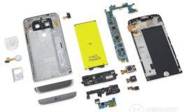الجی جی۵ (G5) به عنوان تعمیرپذیرترین تلفن هوشمند سال ۲۰۱۶ انتخاب شد