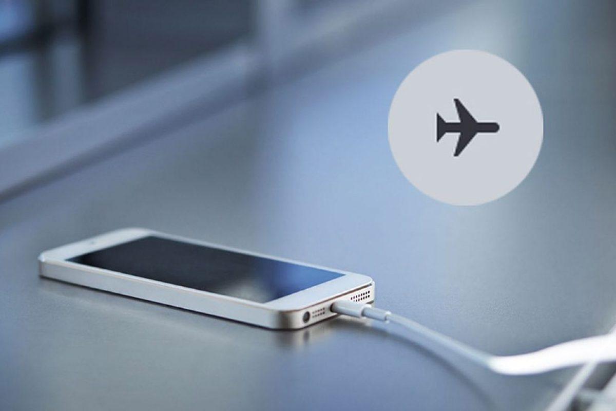 آیا اسمارتفونها در حالت پرواز سریعتر شارژ میشوند؟!