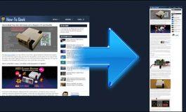 سه روش برای گرفتن اسکرینشات از یک صفحه وب