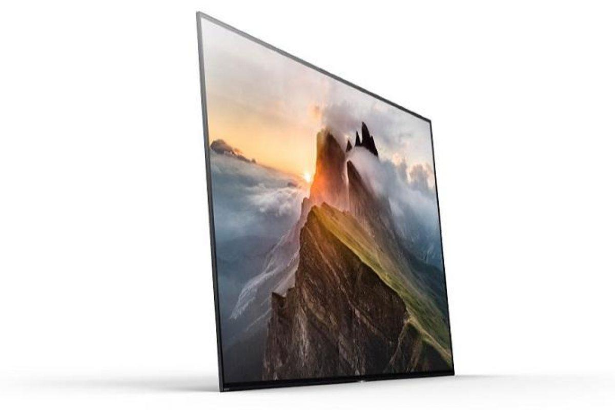 تلویزیون ۴K سونی براویا A1E در نمایشگاه CES 2017 معرفی شد