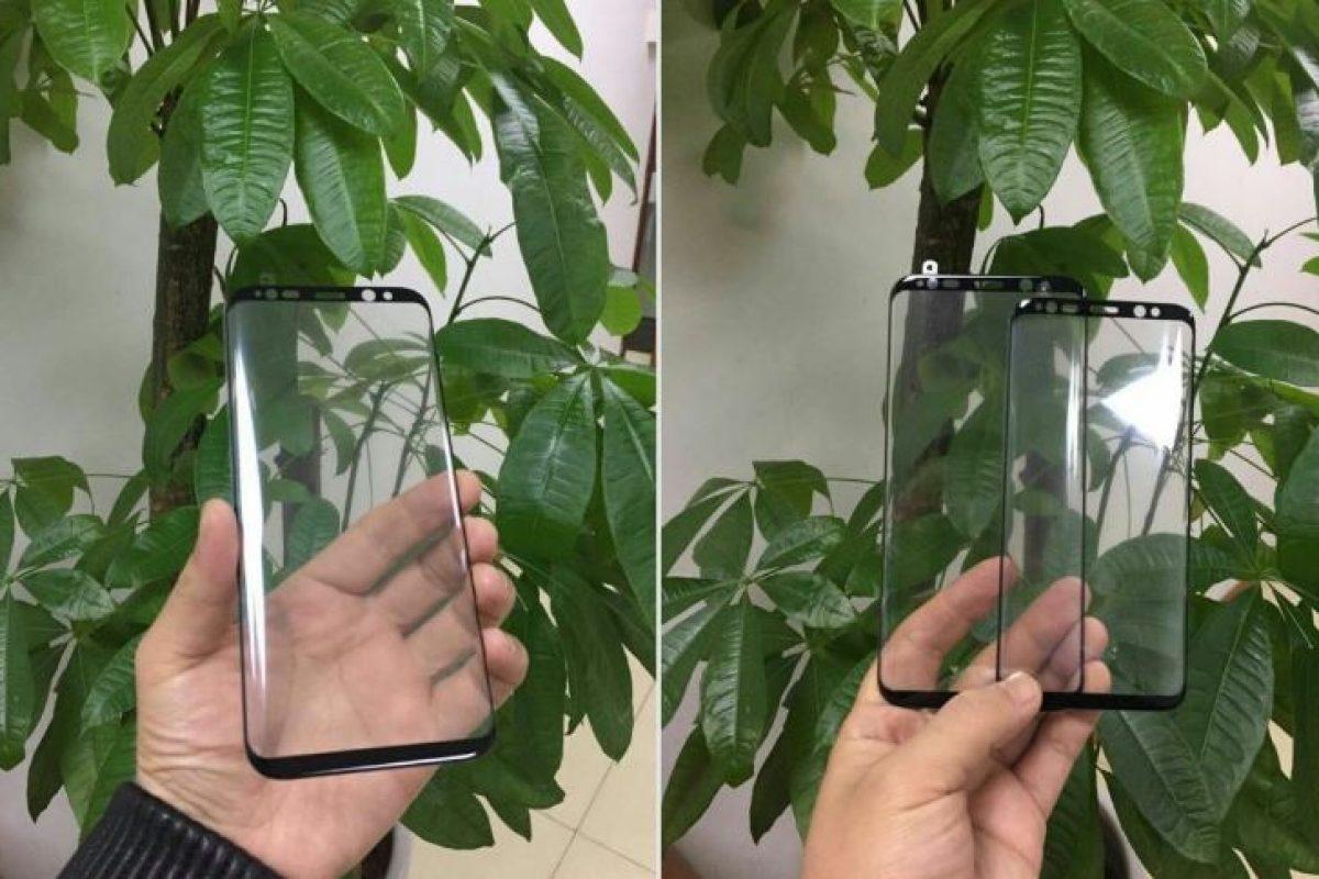 تصاویری از پنل شیشهای گلکسی S8 سامسونگ
