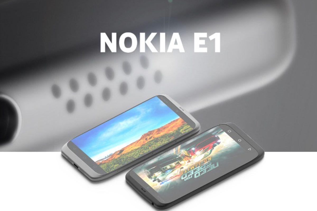 آخرین تصاویر و اطلاعات منتشر شده در رابطه با نوکیا E1