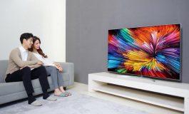 الجی برای اولین بار تلویزیون با فناوری سلولهای نانو را معرفی کرد