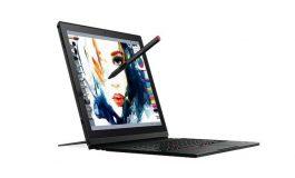 لنوو از تبلت ThinkPad X1 در نمایشگاه CES 2017 رونمایی کرد