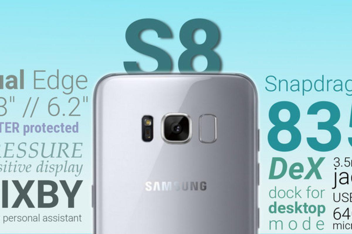 انتظار میرود سامسونگ در نمایشگاه MWC ویدئویی یک دقیقهای از گلکسی S8 را نمایش دهد