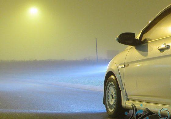 ده توصیه برای رانندگی پس از تاریک شدن هوا!