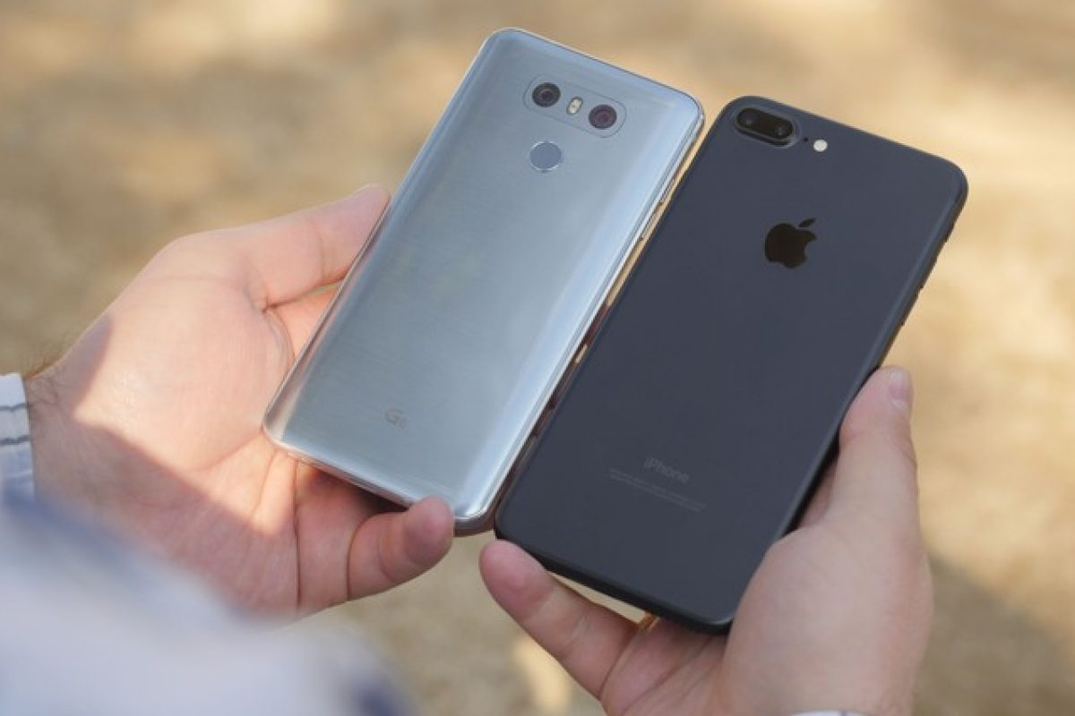 مقایسه مشخصات دو گوشی الجی G6 و آیفون ۷ پلاس