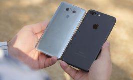 مقایسه مشخصات دو گوشی الجی G6 و آیفون 7 پلاس