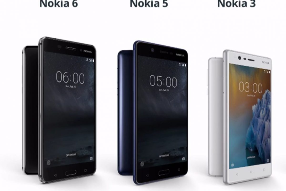 گوشیهای اندرویدی نوکیا ۳، ۵ و ۶ رسما معرفی شدند