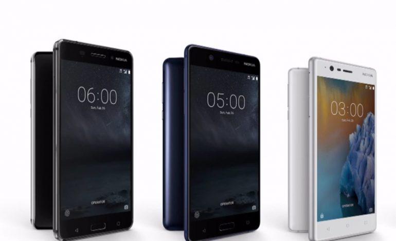 گوشیهای اندرویدی نوکیا 3، 5 و 6 رسما معرفی شدند