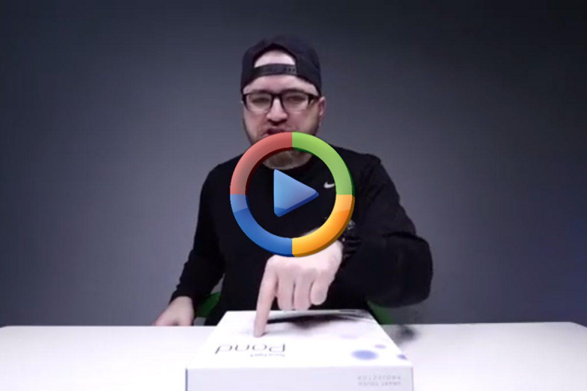 یک پروژکتور صفحه لمسی خاص که عاشقش میشوید! (ویدئوی اختصاصی)