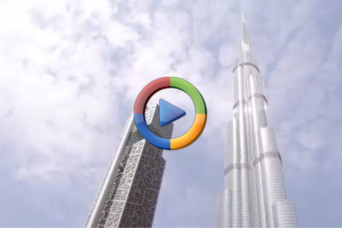 سقوط اپل آیفون ۷ پلاس از برج خلیفه دبی (ویدئو اختصاصی)