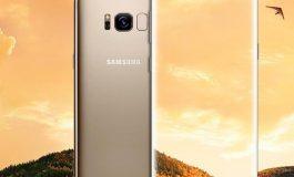 انتشار تصویری از گلکسی S8 با رنگ طلایی