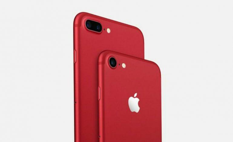 بیش از 480 هزار دستگاه از نسخه قرمز رنگ اپل آیفون ۷ پیش فروش شده است!