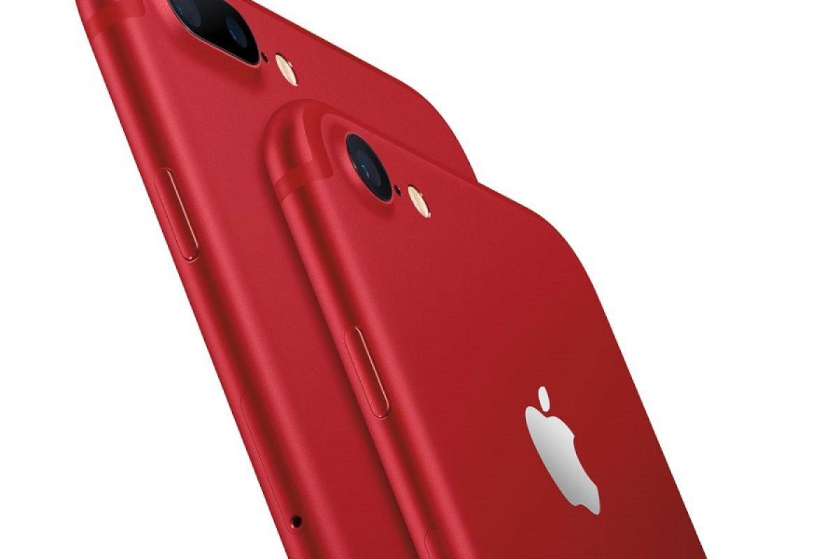 شما هماکنون قادر به خریداری نسخه قرمز رنگ آیفون ۷ و آیفون ۷ پلاس هستید