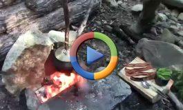 چگونه با سنگ غذا بپزیم؟ (ویدئوی اختصاصی)