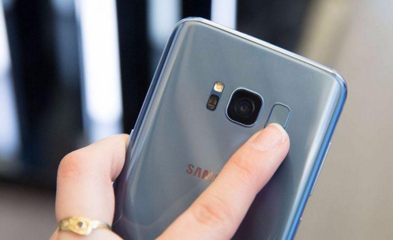آموزش قرار دادن اثر انگشت به عنوان قفل صفحه در گوشی گلکسی S8