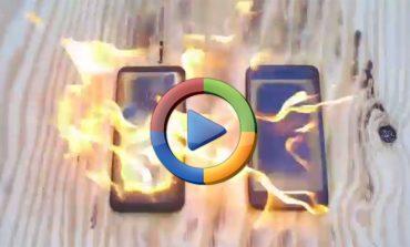 آتش زدن سامسونگ گلکسی S8 پلاس و آیفون 7 پلاس (ویدئوی اختصاصی)