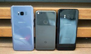برتریهای گلکسی S8 نسبت به گوگل پیکسل