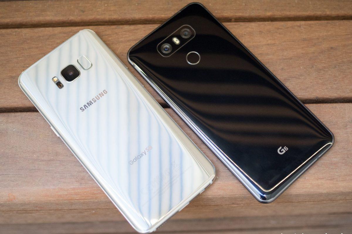 ۵ برتری گلکسی S8 در برابر الجی G6 را بشناسید!