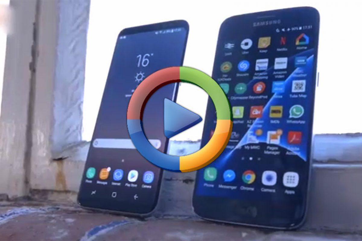 مقایسه دو گوشی گلکسی S8 و گلکسی S7 (ویدئوی اختصاصی)