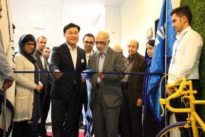 مرکز فناوري سامسونگ و دانشگاه اميرکبير افتتاح شد