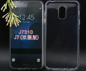 تصاویر فاش شده از قاب گلکسی J7 2017 حاکی از مجهز شدن این دستگاه به دوربین دوگانه هستند