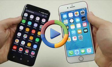 تست سقوط گلکسی S8 سامسونگ با اپل آیفون 7 (ویدئو اختصاصی)