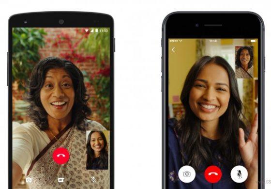 هندیها روزانه بیش از 50 میلیون دقیقه از تماس ویدیویی واتس اپ استفاده میکنند
