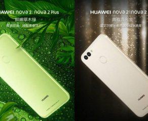 هواوی از گوشیهای هوشمند نوا 2 و نوا 2 پلاس با دوربینهای اصلی دوگانه و دوربین سلفی 20 مگاپیکسلی رونمایی کرد