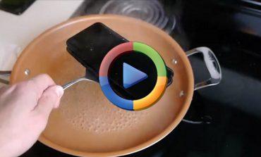 جوشاندن گلکسی S8 پلاس و آیفون 7 پلاس (ویدئو اختصاصی)