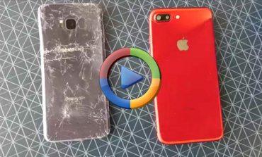 تست خم شدن گلکسی S8 پلاس و آیفون 7 پلاس (ویدئو اختصاصی)