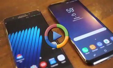نگاهی به شباهتهای گلکسی نوت 7 و گلکسی S8 پلاس (ویدئوی اختصاصی)