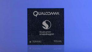 کوالکام از پردازنده اسنپدراگون 450 با معماری 14 نانومتری پرده برداشت