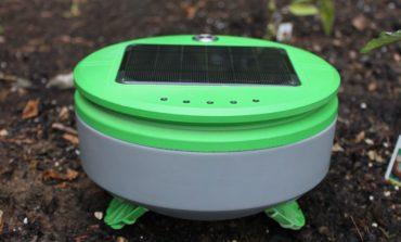 ساخت رباتی ویژه که علفهای هرز باغچه را از بین میبرد