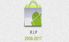 گوگل دیگر از اندروید مارکت پشتیبانی نخواهد کرد!