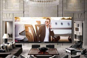 با بزرگترین تلویزیون 4K دنیا آشنا شوید!