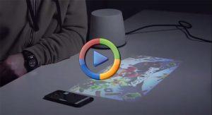 یک پروژکشن خارقالعاده که شبیه به لامپ معمولی طراحی شده است (ویدئوی اختصاصی)