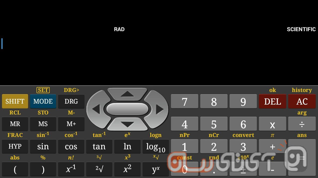 اپلیکیشن Scientific Calculator