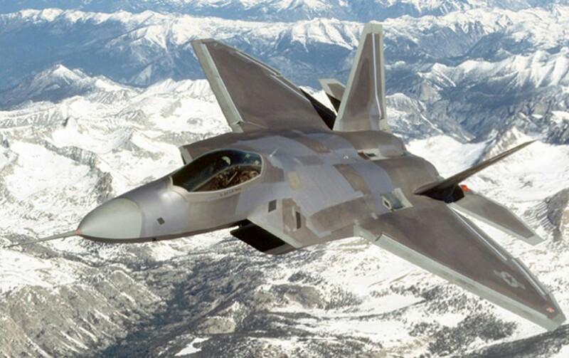 جنگنده اف-22 رپتور F-22