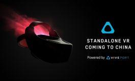 اچتیسی از هدست واقعیتمجازی مستقل Vive VR برای عرضه در بازار چین رونمایی کرد