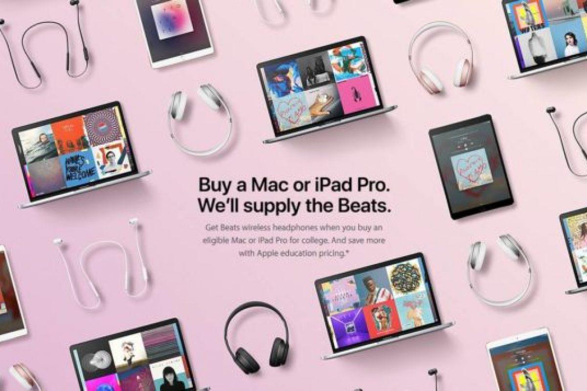 اپل در جشنواره تحصیلی خود با خرید هر مکبوک به کاربر هدفون بیتس هدیه میدهد